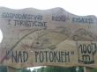 LOGO - Gospodarstwo rolno - rybackie i turystyczne NAD POTOKIEM - Rybotycze - podkarpackie